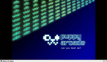 Puppy Arcade V6 con JWM