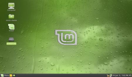 Linux Mint 7 Gnome