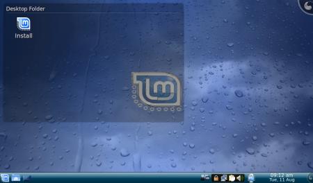 Linux Mint 7 con KDE
