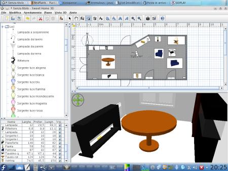 Sweet home 3d il software per la casa dei tuoi sogni for Software per arredare casa 3d