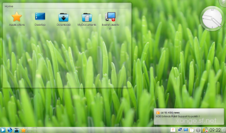 Xange 2010 con KDE