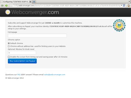 webconverger 16.0