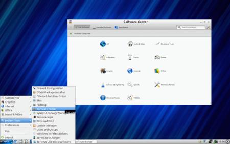 Zorin OS 6.2 LXDE: