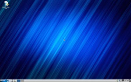 Zorin OS 6.2 LXDE: Desktop