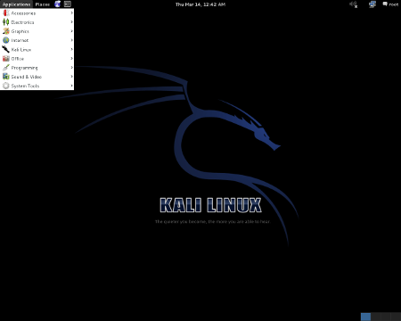 Kali Linux 1.0