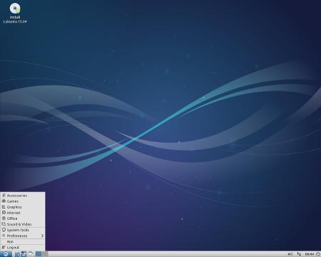 Lubuntu 13.04