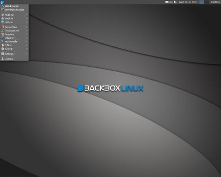 BackBox Linux 3.05