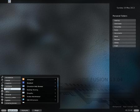 Hybryde Linux 13.04