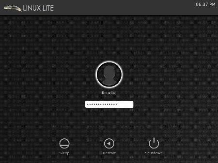 Linux Lite 1.0.6