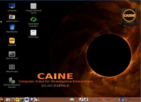 """CAINE 5.0: """"BLACKHOLE"""""""