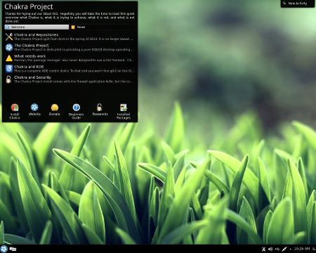 """Chakra GNU/Linux 2014.02 """"Curie"""""""