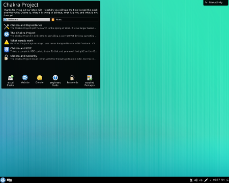 Chakra GNU/Linux 2014.05