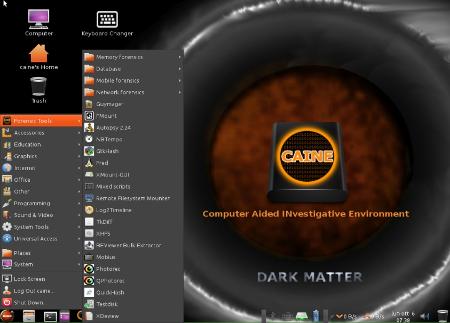 CAINE 6.0: Dark Matter