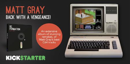 Matt Gray su Kickstarter