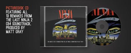 Last Ninja 2 CD