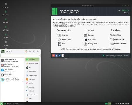 Manjaro Linux 15.09