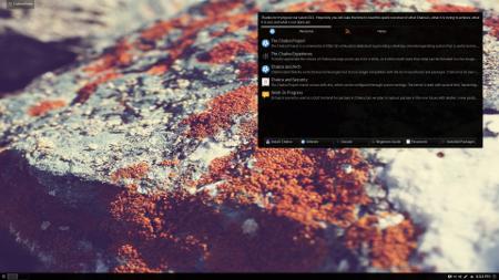 Chakra GNU/Linux 2015.11: Fermi