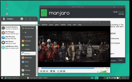 Manjaro Linux 16.08