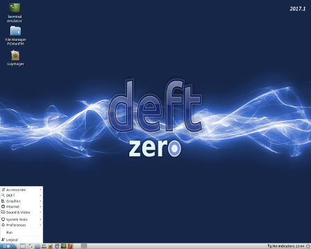 """DEFT Linux 2017.1 """"Zero"""""""