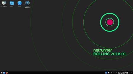 """Netrunner 2018.01 """"Rolling"""""""