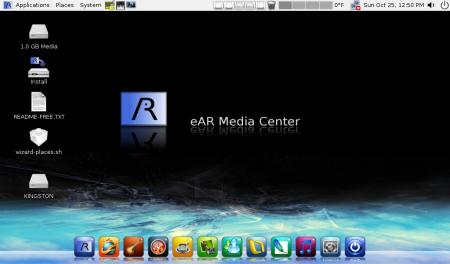 eAR OS v1.10b con Gnome