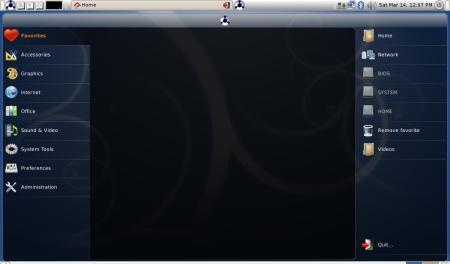 Eeebuntu Netbook Remix Gnome