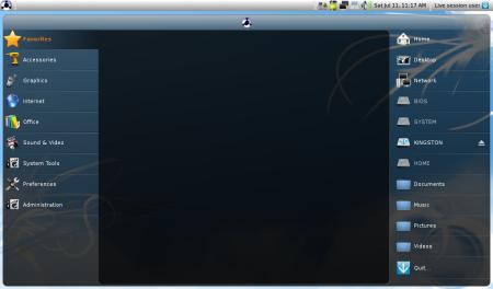 Eeebuntu Netbook Remix 3.0 Gnome