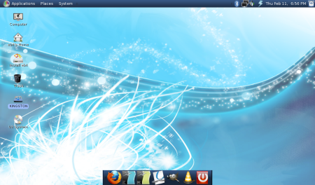 Eeebuntu 4.0 beta con Gnome