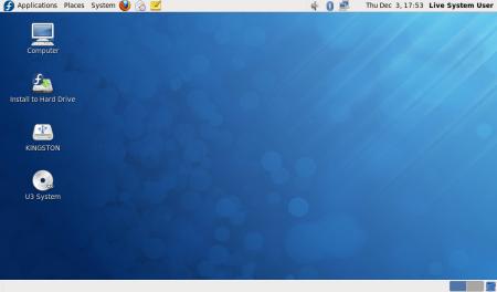>Fedora 12 con Gnome