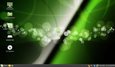 Linux Mint 8 con Gnome