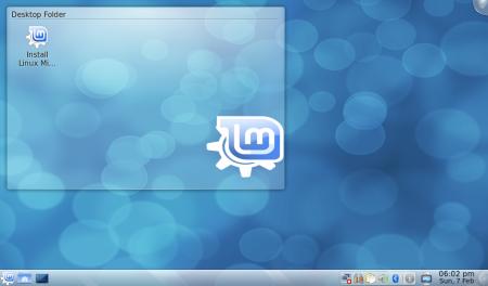Linux Mint 8 con KDE