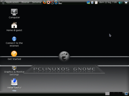 PC Linux OS 2009 Gnome